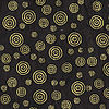 Papers : Lokta Gold on Black Circles