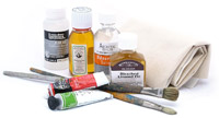 Mediums, Solvents, Varnishes & Grounds