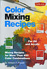 Books : Color Mixing Recipes by William Powell