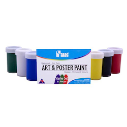 Low Cost Water-Base Paint: FAS Art & Poster Set