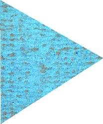 Soft: Mungyo Square Pastel 028 Light Cobalt Turquoise