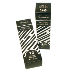 Charcoal: Coates Willow Charcoal Extra Thick