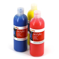 Low Cost Water-Base Paint: FAS Student Acrylic 500ml