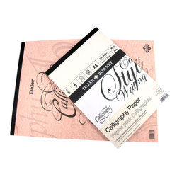 Paper: Daler-Rowney Calligraphy Pads