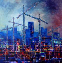 Ken Garrett: Construction Site