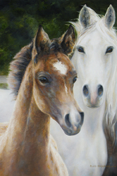 Megan Lee-Richards: Mare and Foal