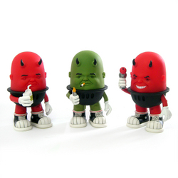New Limited Edition Vinyl Toys by Bob Dob