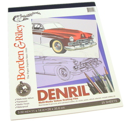 Papers & Boards: Denril Vellum Pad