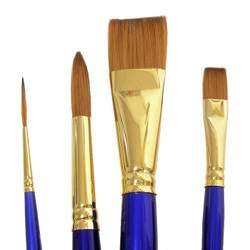 Synthetic: Robert Simmons Sapphire Brushes