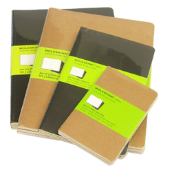 Sketchbooks: Moleskine Cahier Journal Sets