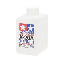 Model Paint: Tamiya Mini Model Paint X-20A Acrylic Thinner 250ml