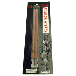 Charcoal: General's Charcoal White Set of 2