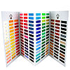 Painting Accessories : Old Holland Hand-Painted Colour Chart
