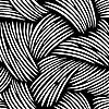 Papers : Fronds Black & White