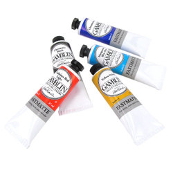 Oil -Professional: Gamblin FastMatte Artist Oil Colors 37ml