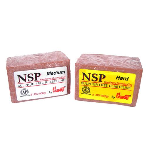 NSP Sulphur-Free Plasteline (Sculpture & Modelling: Clays & Wax