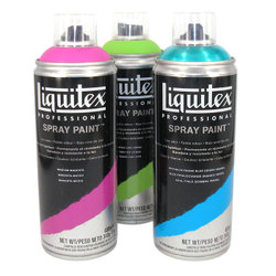 Sprays: Liquitex Professional Spray Paint
