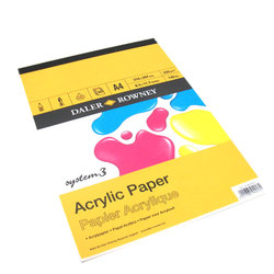 Pads: Daler-Rowney System 3 Acrylic Pads
