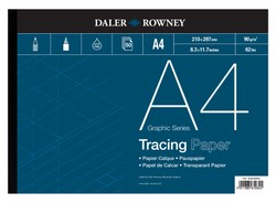 Tracing/Graphic: Daler-Rowney Tracing Pad 90gsm A4