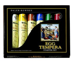 Sets: Daler-Rowney Egg Tempera Starter Set