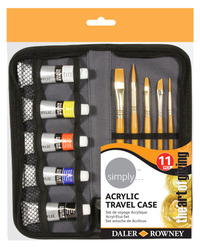Sets: Daler-Rowney Simply Acrylic Travel Set