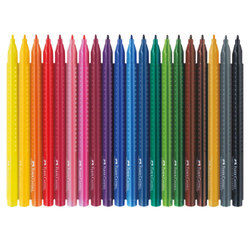 Sets: Faber-Castell GRIP Colour Markers Set of 20