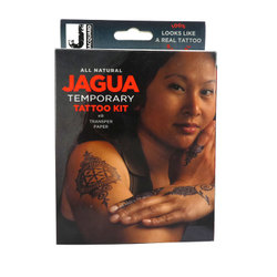 Face & Body Paint: Jagua All Natural Temporary Tattoo Kit