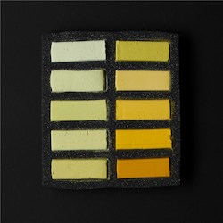 Soft: Art Spectrum Extra Soft Square Pastel Sets 10 Yellows