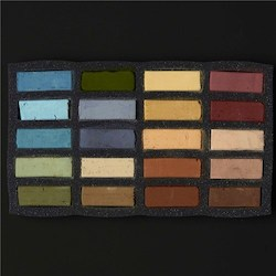 Soft: Art Spectrum Extra Soft Square Pastel Sets 20 Arid Landscape