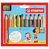 Drawing & Sketching: Pencils : Stabilo Woody Sets